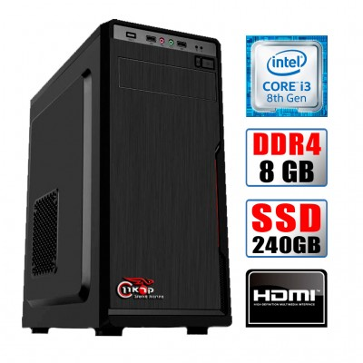 Intel® i3 8100